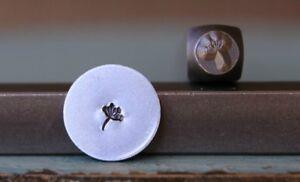 SUPPLY GUY 3mm Dandelion Flower Puff Metal Punch Design Stamp SGCH-85