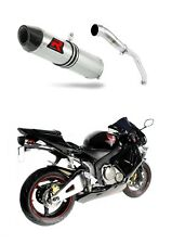 DOMINATOR Exhaust silencer muffler HP2 HONDA CBR 600RR 03-04 + db killer