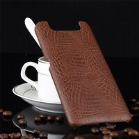 Leather Phone Protective Case Back Cover for Samsung Galaxy A80/A90 Phone BAU
