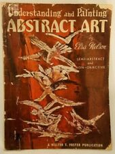 Vintage Art Book Understanding and Painting Abstract Art