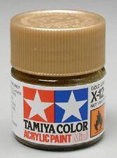 Tamiya X12 Gold Leaf Acrylic Paint Jar 81512 TAM81512