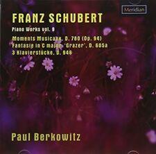 Franz Schubert Piano Works 9 [New CD]