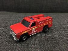Hot Wheels First Aid Oxygen Emergency Unit Toy Truck 1974 Malaysia