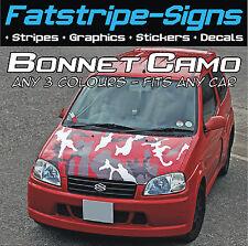 FULL CAR BONNET CAMO KIT GRAPHICS STICKERS DECALS CAMOUFLAGE VINYL WRAP ST VW
