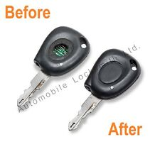 Renault Megane Scenic 1 button remote faulty key REPAIR REFURBISHMENT SERVICE