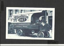 Nostalgia Postcard Steam Lorry Allenbury's 1911
