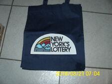 New York Lottery heavy twill tote bag
