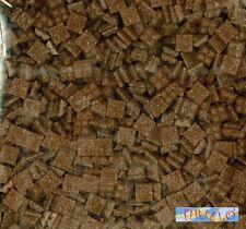 MOSAICO -Tessere mosaico pasta vetro 1x1 cm - 1 kg/1500 pz - Marrone