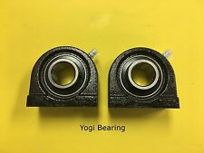 "1"" inch Tapped Base Bearing (2pcs) UCPA205-16 High Quality UCTB205-16"