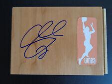 SWIN CASH Signed WNBA Floor Tile NEW YORK LIBERTY Basketball UCONN Free Ship