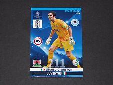 GIGI BUFFON JUVENTUS TURIN UEFA PANINI FOOTBALL CARD CHAMPIONS LEAGUE 2014 2015
