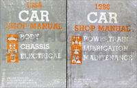1986 Ford Shop Manual Set Escort Lynx EXP Tempo Topaz Mercury 86 Repair Service