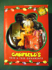"GARFIELD'S Trim A Tree Ornament- 1996, ""Paws"" Inc. New In Box"