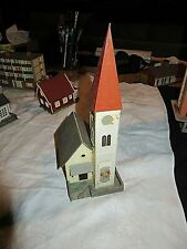 HO Scale Faller Model Railroad Church B-238 Pre-Built Excellent Condition