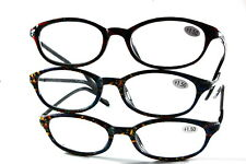 UV 0555 Lady Reading Glass Color Frame +150 3 for 1 price
