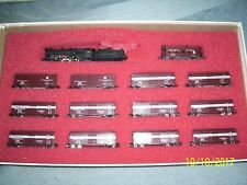 CON-COR N SCALE #8505 PENNSYLVANIA RAILROAD MERCHANDISE SERVICE FREIGHT SET