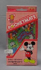 Tomy Pocket Mate Donald Soccer Walt Disney Mini Board Game Box Japan PM6
