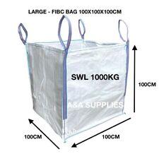 More details for ✅ large 1 ton rubble bulk bags builders garden waste jumbo one tonne sacks