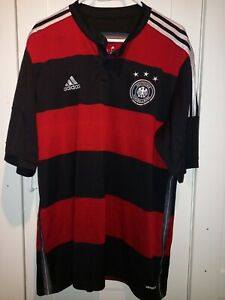 GERMANY 2014/2015 AWAY FOOTBALL SHIRT JERSEY ADIDAS