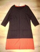 @ Betty Barclay @ Kleid schwarz-rot Size 2XL US 18 UK L Gr. 44 NEU Look Sixtys
