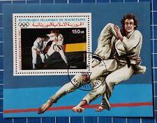 """Mauretanien: Michel Block-Nr. 68 """"Olymp. Spiele´88"""" aus 1987, gestempelt"""