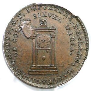 1789 Breen-1022 PCGS MS 62 BN Pl Edge Thick Planchet Mott Token Colonial Coin