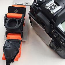 diagnl Japan Ninja Camera Strap DSLR Adjustable Universal Orange Canon Nikon