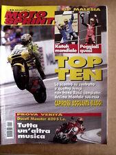 MOTOSPRINT n°43 2001 Test Ducati Monster 620 Honda SH 125 Moto Guzzi  [P48]