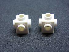 LEGO 4733 @@ Brick, Modified 4 Sides - White x 2 - 4556 6211 7885 7945 7998 7501