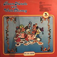VARIOUS • Buon Natale Con Wall Disney • Vinile Lp • 1977 RB
