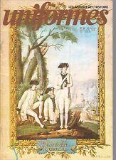 UNIFORMES N°42 TENUES D'ESSAI DE L'INFANTERIE / SERVICE DE SANTE 1804-1815
