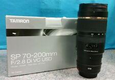 TAMRON SP 70-200MM F/2.8 DI C USD CAMERA LENS A009E FOR CANON SLR