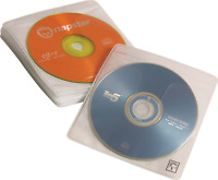 Case Logic CDS-120 120 Capacity CD ProSleeve Pages White