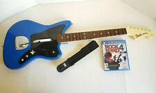 Playstation 4 Rock Band 4 Ps4 Jaguar Guitar Hero Controller + Game