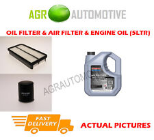 PETROL OIL AIR FILTER KIT + SS 10W40 OIL FOR TOYOTA MR2 2.0 156 BHP 1989-00