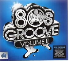 80's Groove II (Ministry Of Sound) - Various Artists (CD 2011) Original CD