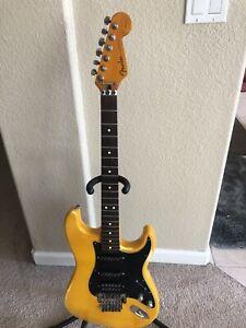 Vintage Fender Stratocaster 6 String Guitar