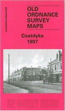 OLD ORDNANCE SURVEY MAP COATDYKE 1897