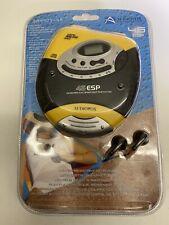 Audiovox Water-Resistant Portable CD Player DM9905-45 Vintage