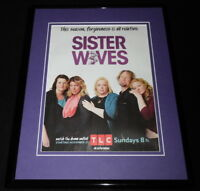Sister Wives 2016 TLC 11x14 Framed ORIGINAL Advertisement