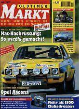 Markt 10/97 1997 Opel Ascona A Amilcar Ford Thunderbird Moto Guzzi V7 Sport Heck