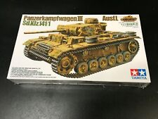 1/35 Scale Tamiya Panzerkampfwagen Iii Ausf. L in Sealed Box