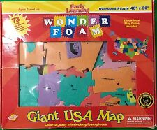 Early Learning Giant USA Map