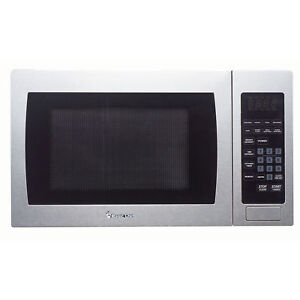 Magic Chef 0.9 cu. ft. Countertop Microwave in Stainless Steel-MCM990ST