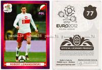 "RARE !! Sticker ROBERT LEWANDOWSKI ""UEFA EURO 2012"" Panini"