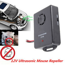 1x 12V Auto LKW Motor Ultraschall Pest Maus Ratte Nagetier Repeller Abschreckung