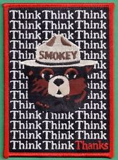 US Forest Service Smokey Bear Offically Licensed Poster Patch - 1982 Poster # 5