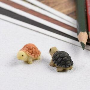 Little Turtle Creative Home Decorations Fish Tank Resin Hot Sale Crafts C7H0