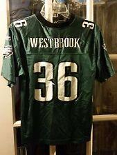 Brian Westbrook Philadelphia Eagles Jersey Youth L 14-16 Villanova VU Wildcats