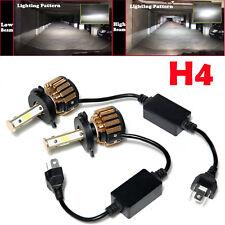 H4 9003 HB2 1280W 192000LM LED Headlight Conversion Bulb Kit Hi/Lo Beam 6000K